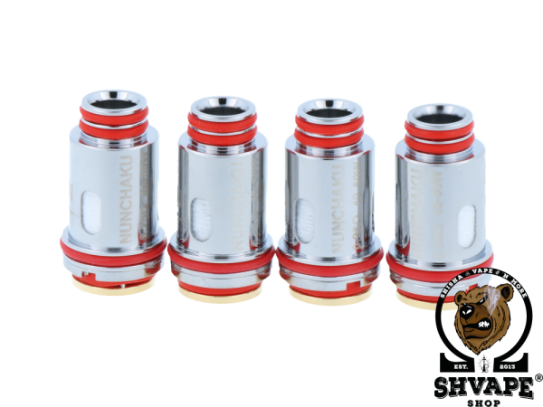 Uwell Coil Nunchaku Claptonized A1 Heads 0,25 Ohm - 4er Packung