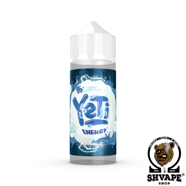 YETI Liquid ENERGY - 100ml (0mg/ml)
