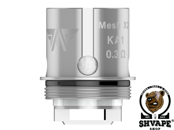 GeekVape Coil Super Mesh X2 0,3 Ohm - 5er Packung