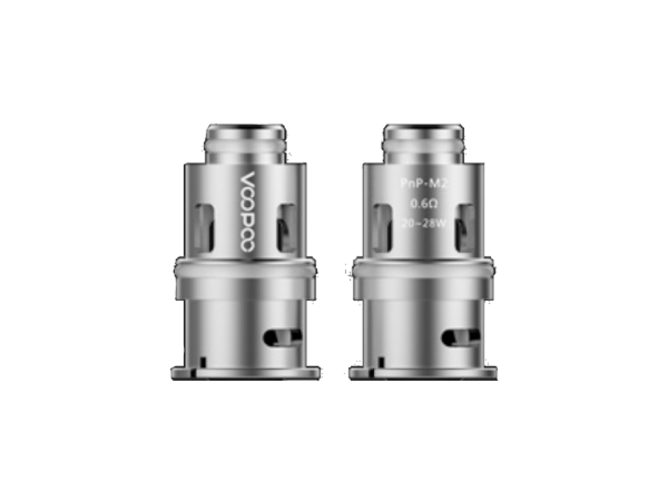 VooPoo Coil PnP-M2 Head 0,6 Ohm - 5er Packung