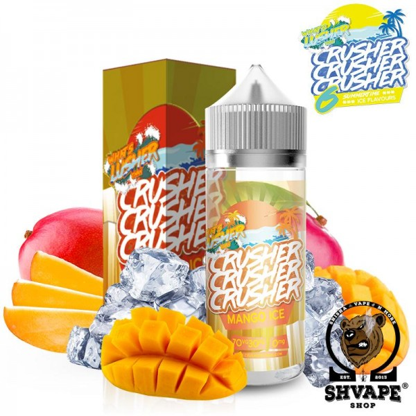 CRUSHER Liquid Mango Ice - 100ml (0mg/ml)