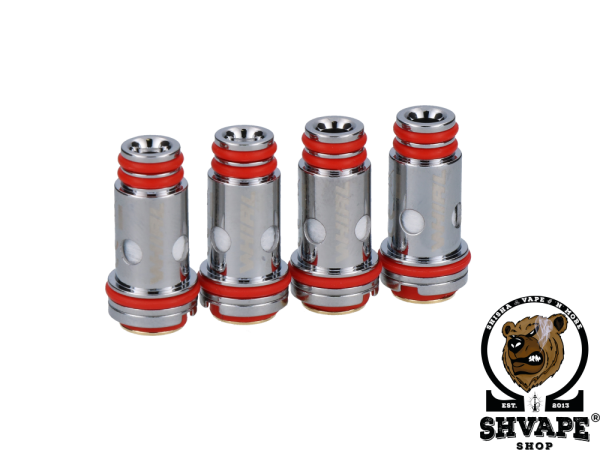 Uwell Coil Whirl Heads 0,6 Ohm - 4er Packung