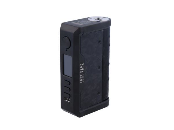Lost Vape Centaurus Akkuträger DNA 250C 200 Watt - black-ostrich-chopped-carbon