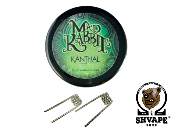 Mad Rabbit Fused Clapton Coils 0,45 Ohm - 10 Stück