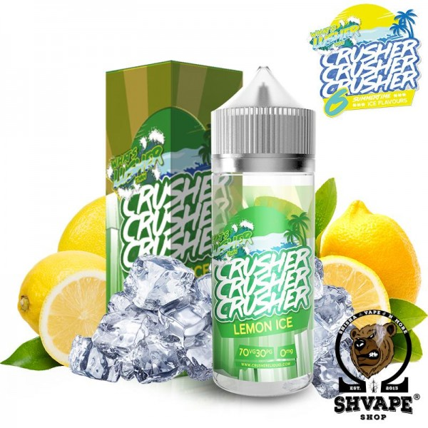 CRUSHER Liquid Lemon Ice - 100ml (0mg/ml)