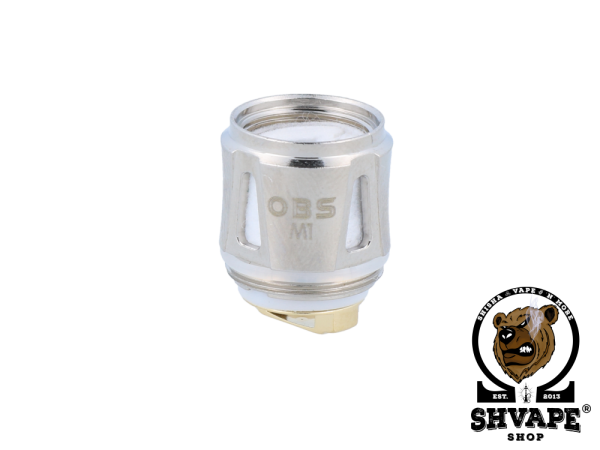 OBS Coil Mesh M1 0,2 Ohm Heads - 5er Packung