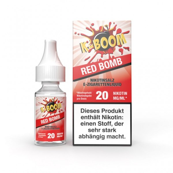 K-Boom Nikotinsalz Red Bomb - 10ml (20mg/ml)