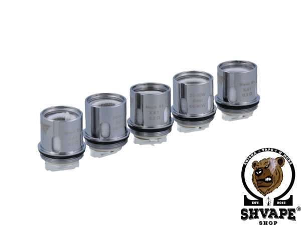GeekVape Coil Mesh-X1 Heads 0,2 Ohm - 5er Packung