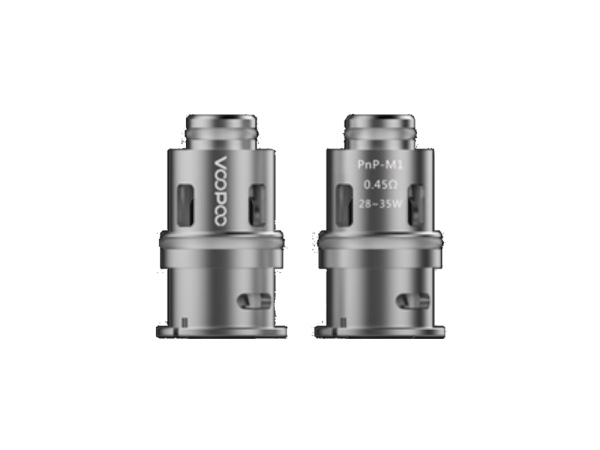 VooPoo Coil PnP-M1 Head 0,45 Ohm - 5er Packung