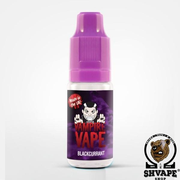Vampire Vape Liquid BLACKCURRANT - 10ml