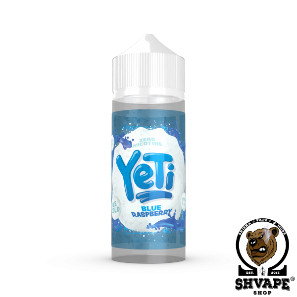 YETI Liquid BLUE RASPBERRY - 100ml (0mg/ml)
