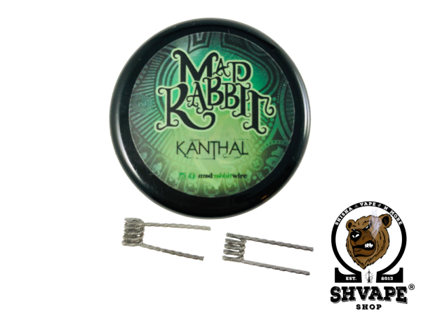 Mad Rabbit Staple Coils 0,3 Ohm - 10 Stück