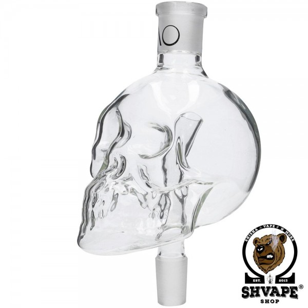 AO Molassefänger Skull Big 18/8 - clear