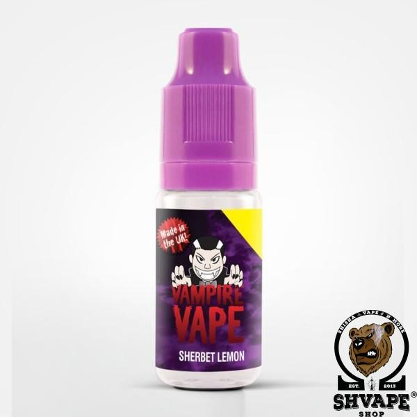 Vampire Vape Liquid SHERBET LEMON - 10ml