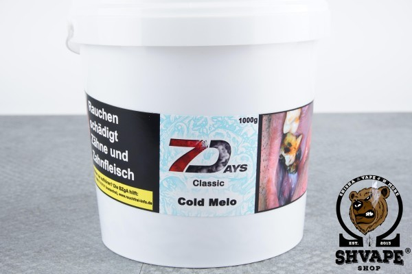 7 Days Classic Cold Melo - 1kg