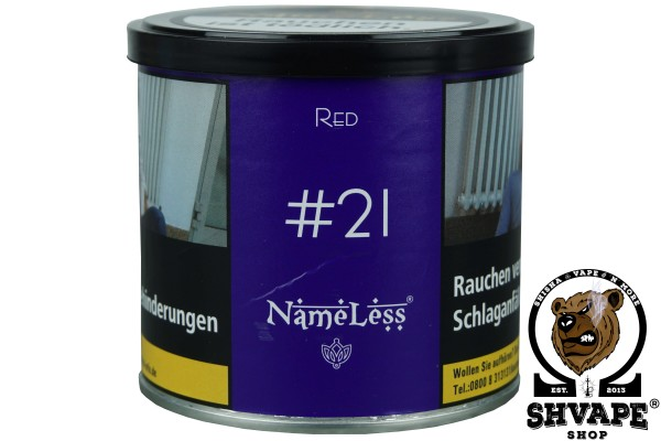 NameLess Tobacco #21 RED - 200g