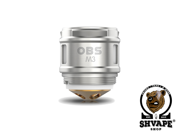 OBS Coil M3 Triple Mesh 0,15 Ohm Heads - 5er Packung